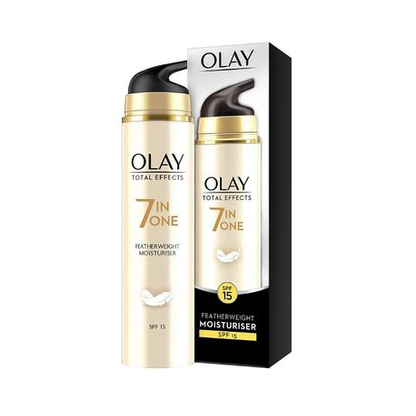 Лек овлажнител против стареене Olay Total Effects 7in1 SPF 15